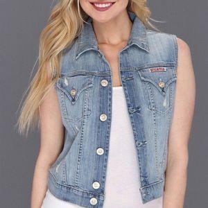 Hudson Jeans Jackets & Coats - Hudson distressed denim signature vest